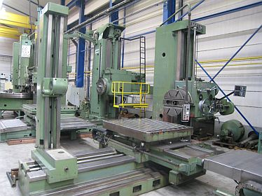 Horizontal Boring Mills, table type